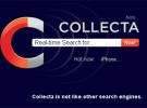 Collecta, un nuevo buscador esencialmente diferente