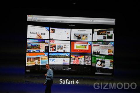 Safari 4 final disponible desde hoy