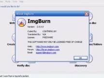 Nueva versión de ImgBurn