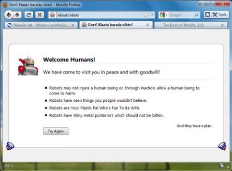 Mozilla Firefox 3.7 Theme