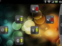 Widgets interruptores en Android