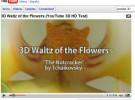 YouTube experimenta con vídeos en 3D