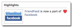 Facebook compró FriendFeed
