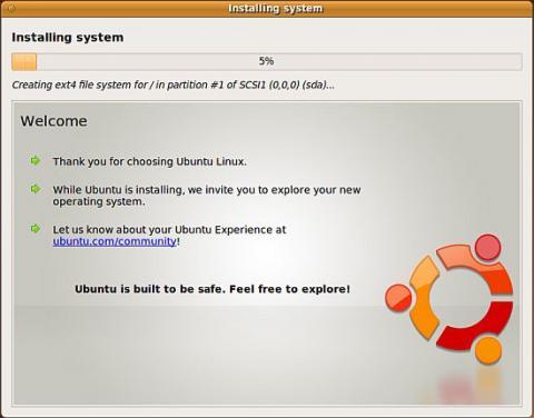 Ubuntu Alpha 5