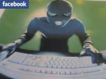 Ladron deja su cuenta de Facebook abierta