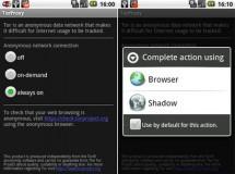 Shadow, o como navegar anónimamente usando tu móvil Android