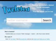 Tweleted, puedes recuperar los mensajes borrados en Twitter, si quieres…