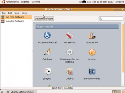 Ubuntu Software Store