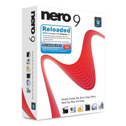 Nero 9 Reloaded, compatible con Windows 7