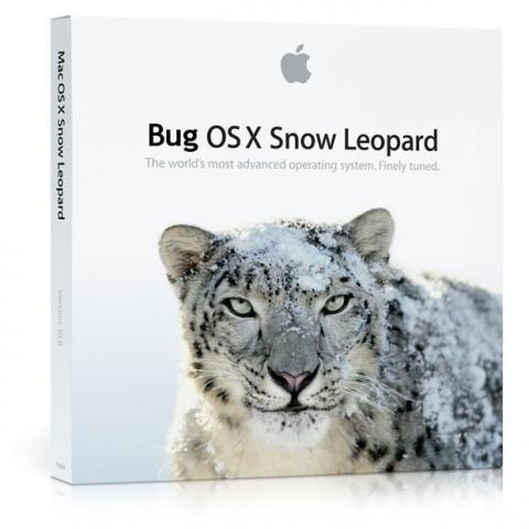 Bug Snow Leopard
