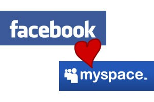Facebook y MySpace quieren ser amigos