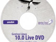 DVD conmemorativo del 10° aniversario de Gentoo Linux