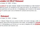 Portableapps.com presenta Google Chrome y Skype portables