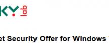 También Kaspersky regalará Internet Security este 22 de Octubre