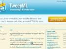 TweepML: crea y comparte grupos de usuarios de Twitter