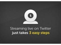 Twitcam: transmite video en vivo a través de Twitter