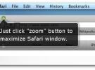 SafariZoom: Aplicación para que Safari se maximice de verdad