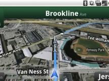 Google Maps Navigation, el navegador GPS gratuíto, disponible para Android 1.6
