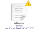 Windows 7 ya no utiliza el archivo autorun.inf