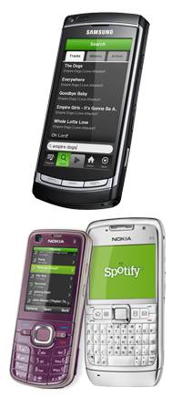 Spotify Symbian