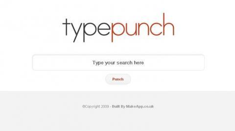 TypePunch, para buscar en muchos sitios a la vez