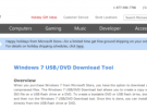 La aplicación 'Windows 7 USB/DVD Download Tool' ha regresado