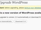 Disponible para descargar WordPress 2.9