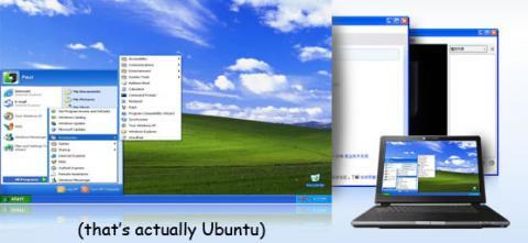 Ylmf OS!: Un Ubuntu que luce como Windows XP