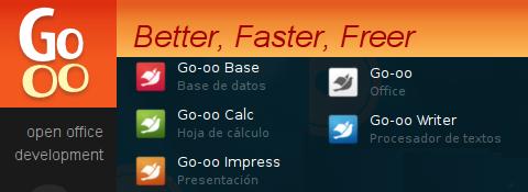 Go-oo: un OpenOffice mejor, más rápido y más libre