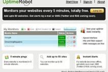 Con UptimeRobot, siempre estarás al tanto si tu web está caída