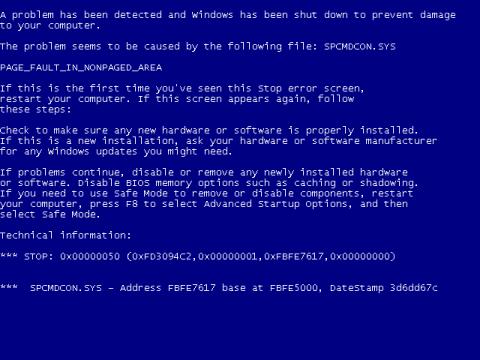 El culpable de los BSOD causados por la última actualización es un malware