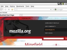 Primeras capturas de Firefox en Android