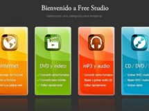Free Studio, para editar audio y vídeo gratis