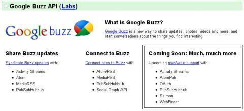 Google Buzz, la primera novedad de un pack con mucho más