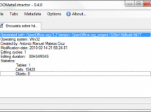 OOMetaExtractor, o como mejorar la privacidad de los usuarios de OpenOffice.org