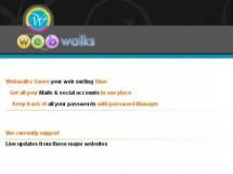 Webwalks, tus correos y redes sociales todos en el mismo sitio