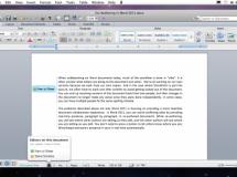 Presentado Office 2011 para MacOS X