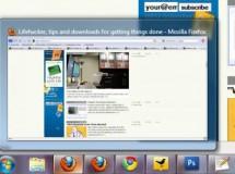 Windows 7 Taskbar Thumbnail Customizer: cambiando el tamaño de las miniaturas que aparecen en la barra de tareas con un par de clics