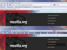 La última alpha de Firefox incluye soporte para Aero Glass
