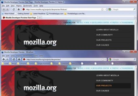 Firefox 3.7 Alpha 4