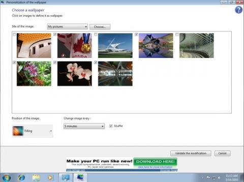 StarterBackgroundChanger, o cómo cambiar el fondo de pantalla en Windows 7 Starter