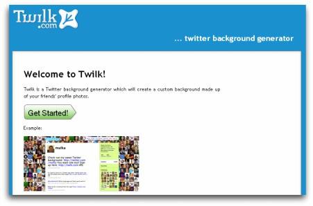 Twilk, personaliza el fondo de tu perfil Twitter