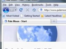Pale Moon: un clón de Firefox para Windows