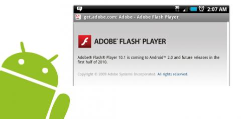 Google confirma que Android 2.2 soportará Flash