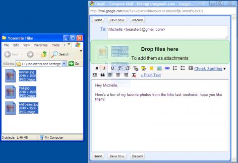 Gmail se integra más con Calendar y añade la función arrastrar y soltar