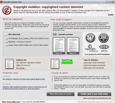 Cuidado amigos del torrent, una nueva estafa por malware circula por la red