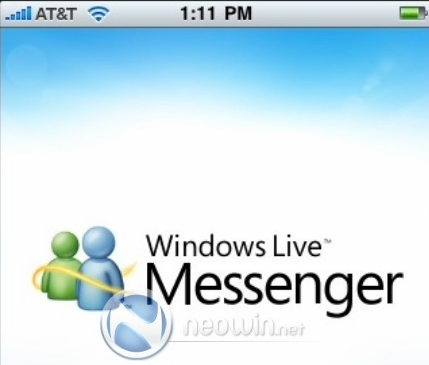Aplicación oficial de Windows Live Messenger para el iPhone ha sido revelada