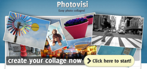 Photovisi, o cómo crear un collage en línea