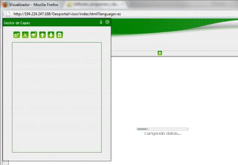 IDE Extremadura en Firefox