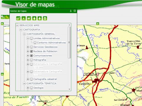 IDE Extremadura en IE